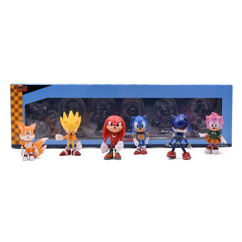 ALI shop ...  ... 32955906415 ... 3 ... Sonic Anime Doll Action Figure Toys Box-Packed 6PCS/SET 2st Generation Boom Rare PVC Model Toy For Children Characters Gift ...