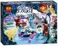 249 unids Elfos Naida secret Spa Bela Building Blocks Set de regalo de Navidad Para Niños Juguetes Compatible Legoe Elfos Amigos Para chica