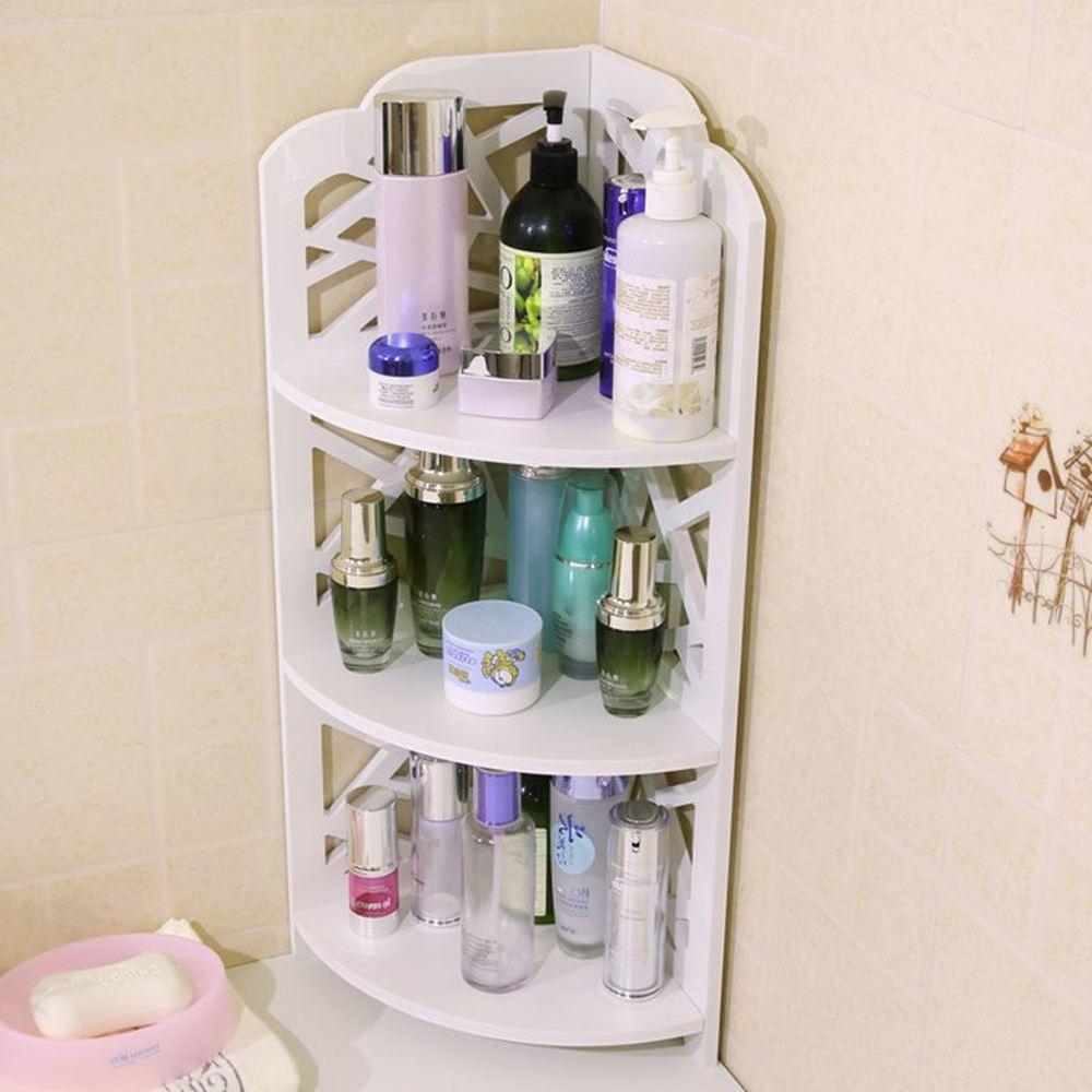 Wc badkamer hoekplank vloer opslag opslag plank kan worden wandmontage driehoek plank badkamer plank lo89510 - 2