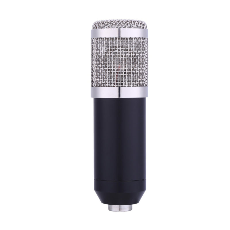 Micro à condensateur professionnel pour ordinateur Audio Studio enregistrement Vocal micro KTV karaoké ensemble de pied de Microphone - 3