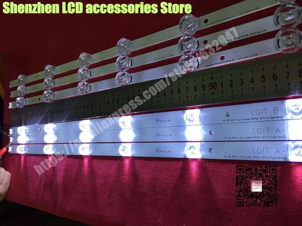 3piece/lot  59cm LED TV backlight for LG 32 TV 32MB25VQ 6916l-1974A 1975A 1981A lv320DUE 32LF5800 32LB5610 innotek drt 3.0 323piece/lot  59cm LED TV backlight for LG 32 TV 32MB25VQ 6916l-1974A 1975A 1981A lv320DUE 32LF5800 32LB5610 innotek drt 3.0 32