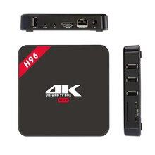 H96 RK3229 1g / 8g android 6.0 TV Box Quad Core2High Geschwindigkeit WiFi Bluetooth 4,1 HD Media Player Set Top Box Hohe Kosten Leistung