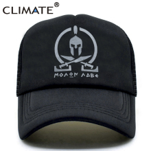 CLIMATE New Sparta Trucker Cap Men Women Molon Labe Caps Spa