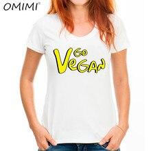 """Fashionable """"Vegan"""" women t-shirt"""