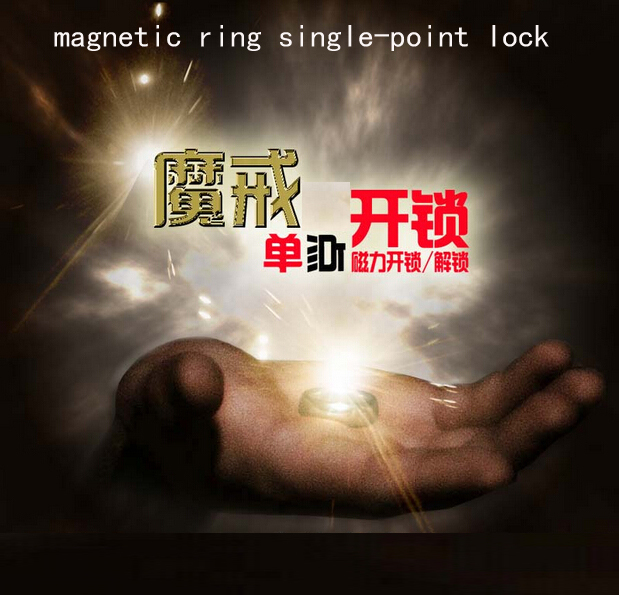 Game props Tools Simulation game props magnetic ring single-point lock to unlock the Ring Game Escape props