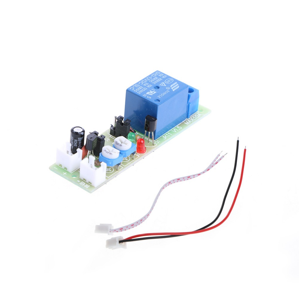 12v Dc Infinite Cycle Delay Timing Timer Relay On Off Switch Loop How To Wire A Module Trigger 4xfc Drop Ship In Ac Adapters From Consumer Electronics