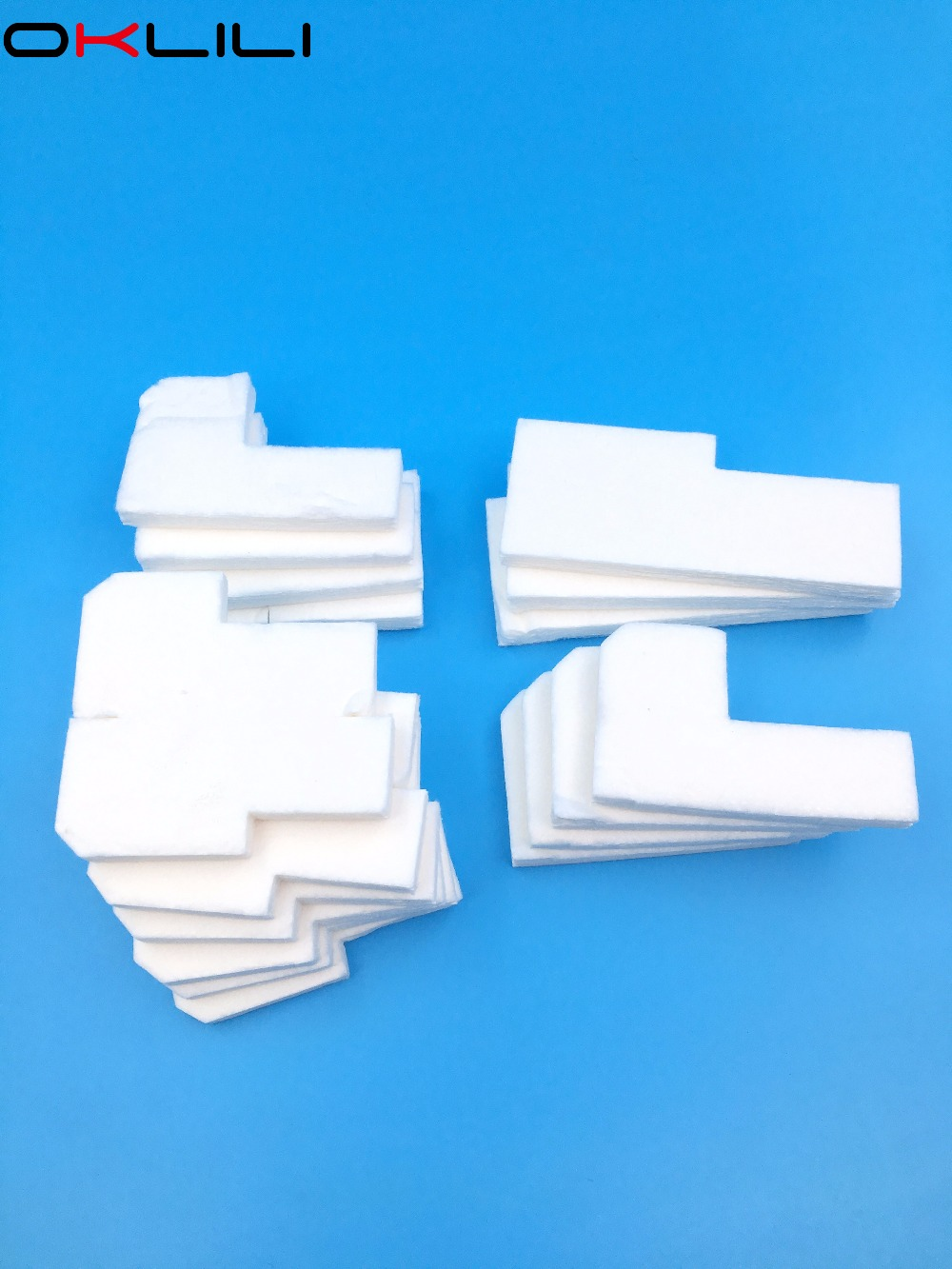 Office Electronics 2 Sets Original Waste Ink Tank Pad Sponge For Epson T50 T60 P50 P60 A50 L800 L801 L805 R280 R290 R330 Rx600 Rx610 Rx690 Px650