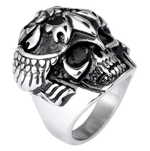 Skeleton Skull Ring Men Ring