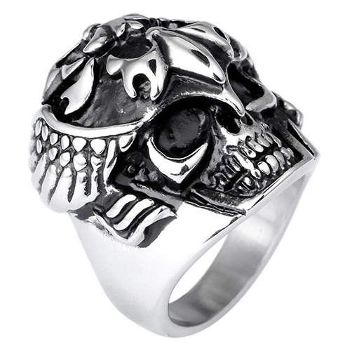 Skeleton Skull Ring Men Ring