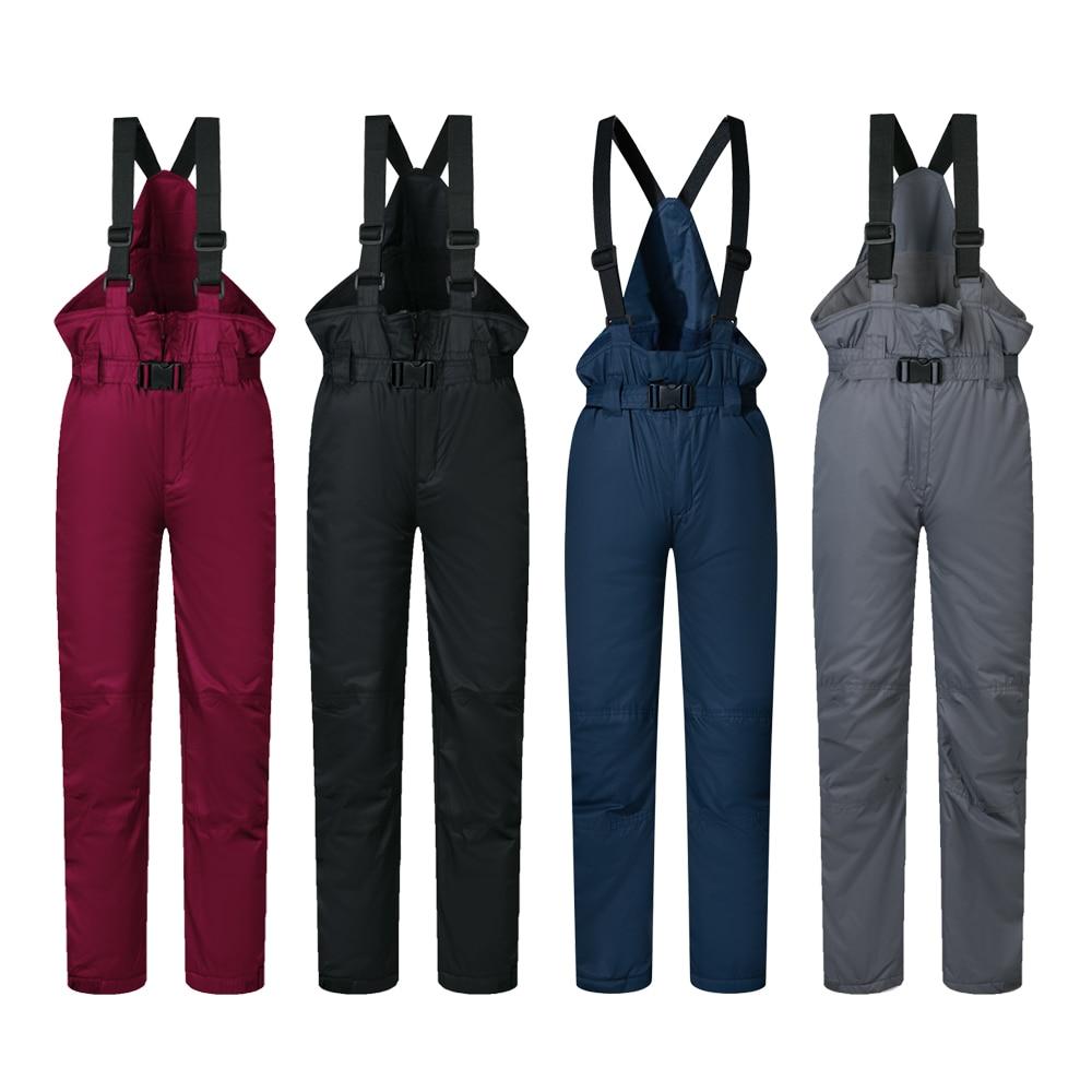 2017 New Outdoor Sports Boys Girls font b Ski b font Pants Kids Windproof Waterproof Warm