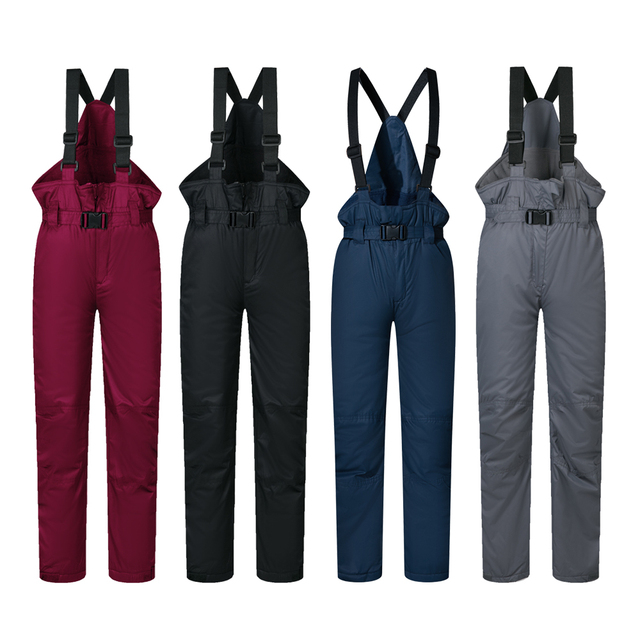 d3c6e8ecf824 Ski Pants Kids Boys And Girls Outdoor Windproof Waterproof WarmSnow ...
