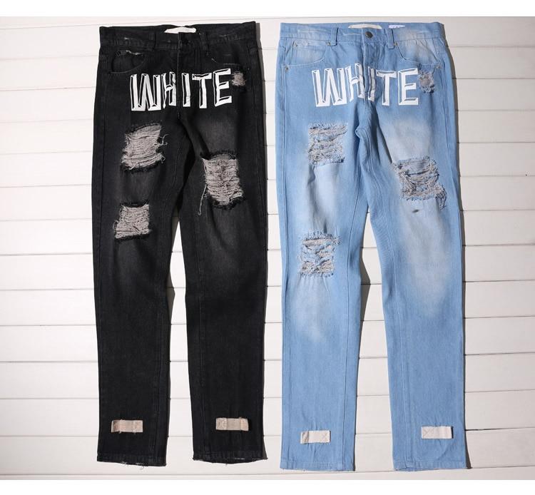 Off White Jeans - Jon Jean