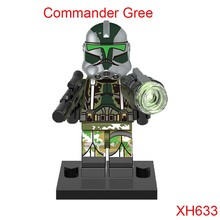 Commander Gree Mini Dolls Action Figure Single Sale Star Wars Stroopers Diy Building Blocks Toys For