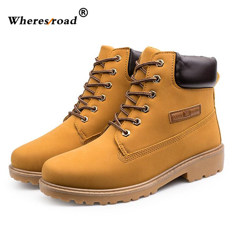 2016 Autumn Winter Brand Men Shoes Martin Casual Boots Leather Warm Snow Boots Outdoor  Timber Boots Botas Hombre Big Size 39-46 northmarch autumn winter retro men boots comfortable zipper brand casual shoes leather snow boots shoes dark red bota masculina