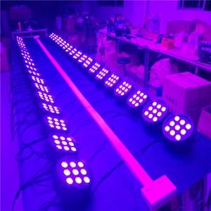Image 5 - Luz LED RGBW 4 en 1 de 9X12W para escenario, luz de vuelo con 16 piezas LED, luz de escenario, DMX, LED Par de luces de fiesta