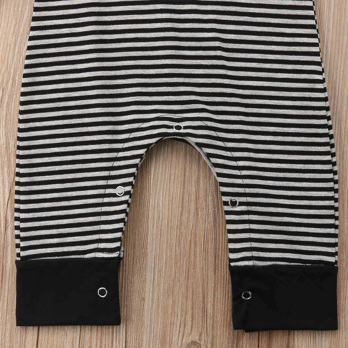 2018 Новый брендовый Рабочий Комбинезон для маленьких мальчиков, комбинезон в полоску с короткими рукавами, летняя одежда в стиле пэчворк