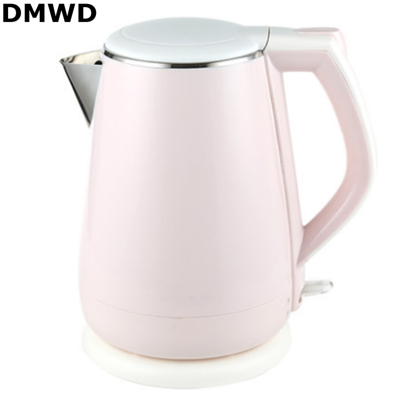 DMWD 220V/50Hz/1800W 1.5L Underpan Heating Thermal Insulation Electric Kettle Stainless Steel Auto off Electic Pot Fast Boiling|electric kettle stainless|electric kettle|stainless steel electric kettle - title=