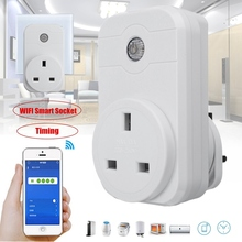 Newest 4G/WiFi UK Plug Wireless Remote Control Smart Power Socket Plug Smart Home 10A UK Socket Timer Switch For IOS/Android