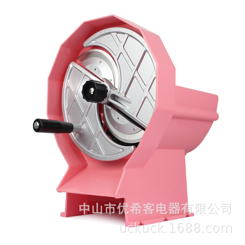 Multifunctional Manual Pink Stainless Steel Slicer Lemon Slices Fruit Vegetables Slicer Slice Thickness Can Be Adjusted