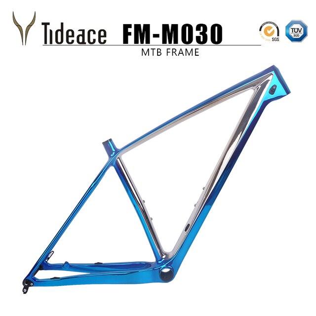 c9a35a53d Cores do chapeamento 29 15 17 19 21 polegada mtb Quadro de Carbono 29er Mountain  bike Da Bicicleta 148 milímetros ou 142mm eixo frete grátis