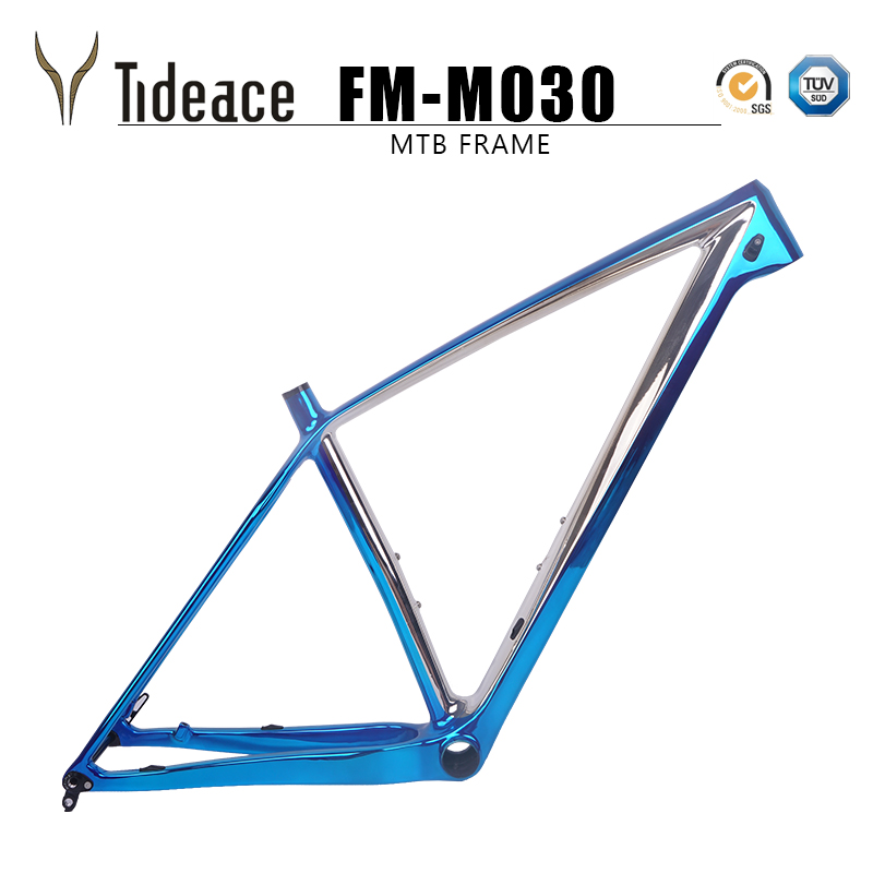 Plating Colors 29er 15 17 19 21 inch Carbon mtb Frame 29 bike Mountain Bicycle Frame 148mm or 142mm axle free shipping