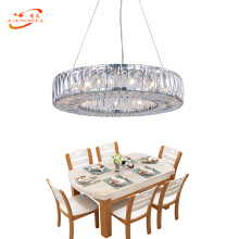 Round Chandelier Crystal Light Modern Cristal Chandelier Lighting Fixture Luxury Hanging Lamp LED Chandeliers Lighting crystal chandeliers lighting home lighting fixtures ring led chandelier lamp modern lights fixture hanging lustres led luminaire