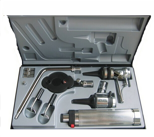 Multi-purpose ENT Medical Diagnostic Ear Care Otoscope Ophthalmoscope kit