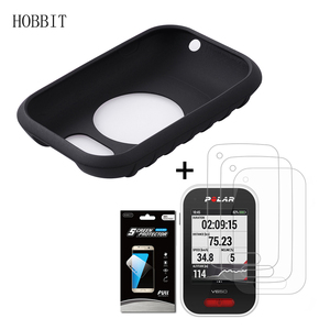 Image 1 - Silicone TPU Back Cover Case For Polar V650 GPS Road Mountain Bike Cycling with LCD Screen Protector for Polar V650 Film