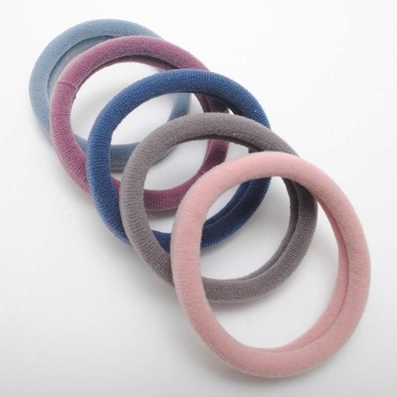 New Korean Color  Elastic Hair Bands Women Seamless  Ring  Strong Hair Gum Elasticity  Scrunchies Gift  Accessories