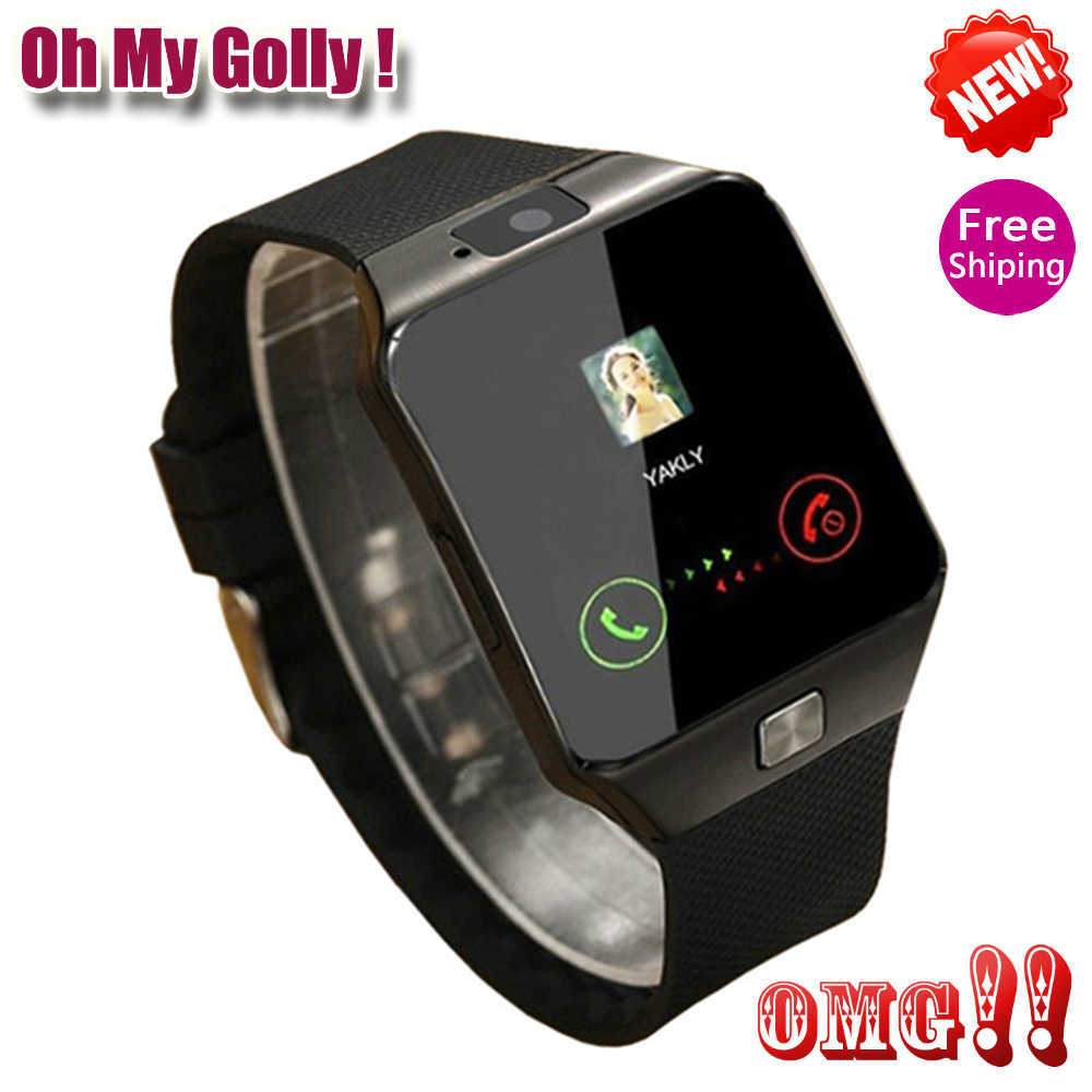 OMG Bluetooth Smart Watch DZ09 Wearable Wrist Phone Watch Relogio 2GSIM TF Card For Iphone Samsung Android smartphone Smartwatch