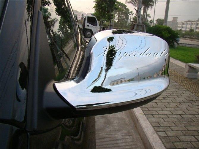 Couvercle de miroir de porte latérale en plastique ABS chromé pour BMW X1 E84 10-12