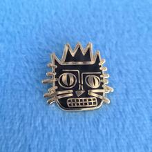 Jean Michele Basquiat Cat Lapel Pin Badge