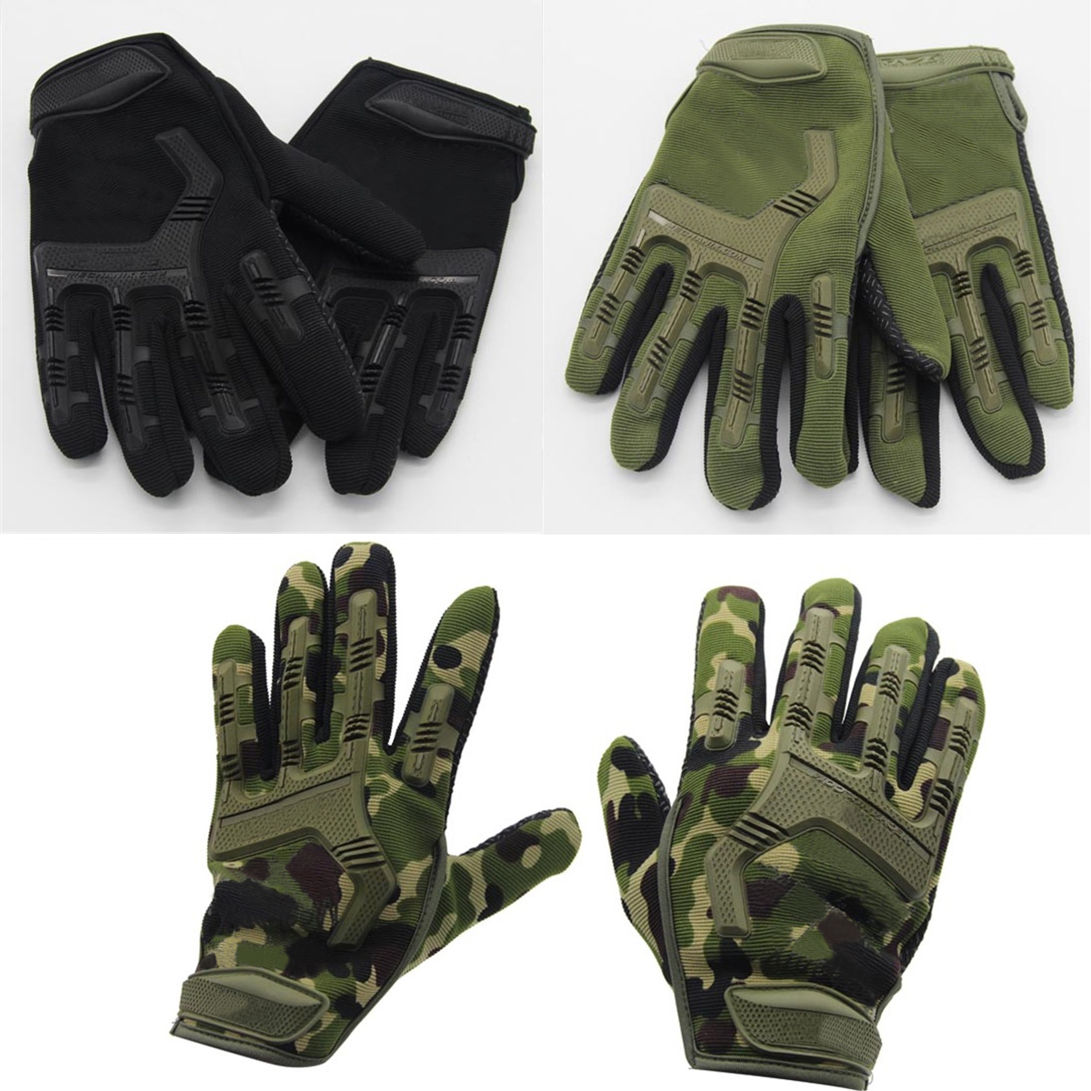 Military Army Tactical Airsoft Shooting Hunting Sports Combat Riding Full Finger GlovesMilitary Army Tactical Airsoft Shooting Hunting Sports Combat Riding Full Finger Gloves