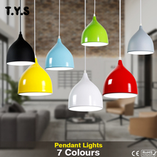 Nordic Simple Pendant Light Aluminum Hanging Lamp Shade Lumi