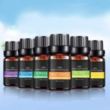 Чистые растительные эфирные масла для ароматической ароматерапии диффузоры Арома масло лаванды Лемонграсс дерево масло натуральный воздух уход