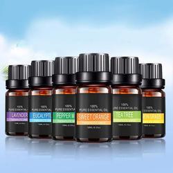 Czyste roślinne olejki eteryczne do aromatycznej aromaterapii dyfuzory olejek aromatyczny lawendowy olejek z drzewa cytrynowego naturalna pielęgnacja powietrza|Olejki eteryczne|   -