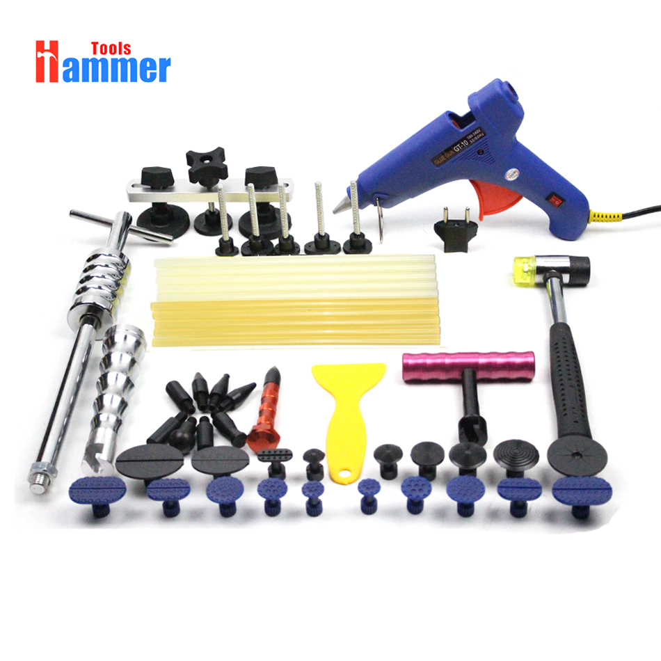 PDR KING Kit Professional Paintless Dent Repair Tools Repair Hammer Hail RemovalPDR KING Kit Professional Paintless Dent Repair Tools Repair Hammer Hail Removal