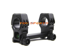 M10 QD L Dual Tactical Scope Mount With Spirit Level BK DE 30mm to 25mm Free