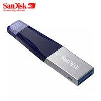 SANDISK Flashdrive 32GB 64GB 128GB Micro Usb Pen Drive Lightning/Otg Usb Flash Drive For iPhone/iPad/ iPod Memory Stick