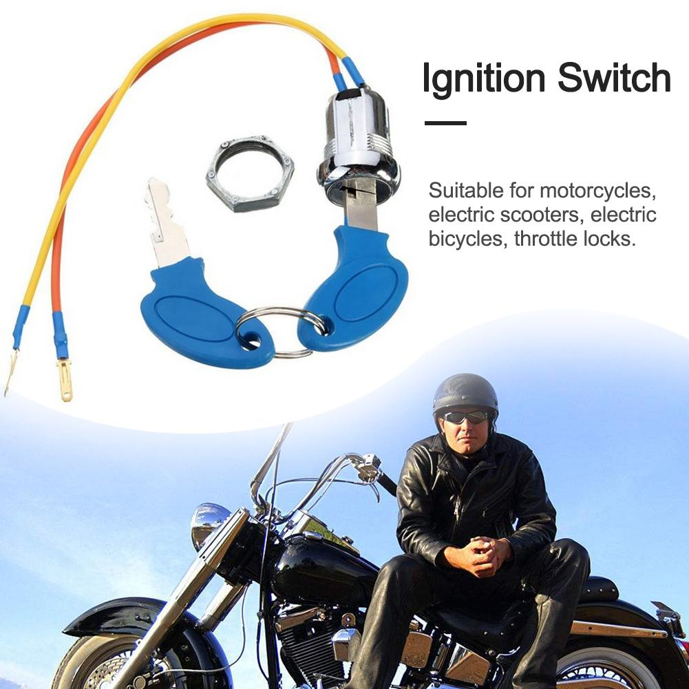Ignition Switch Lock Key For Electric Pocket Bikes Go-Kart ATV Scooter Motocycle