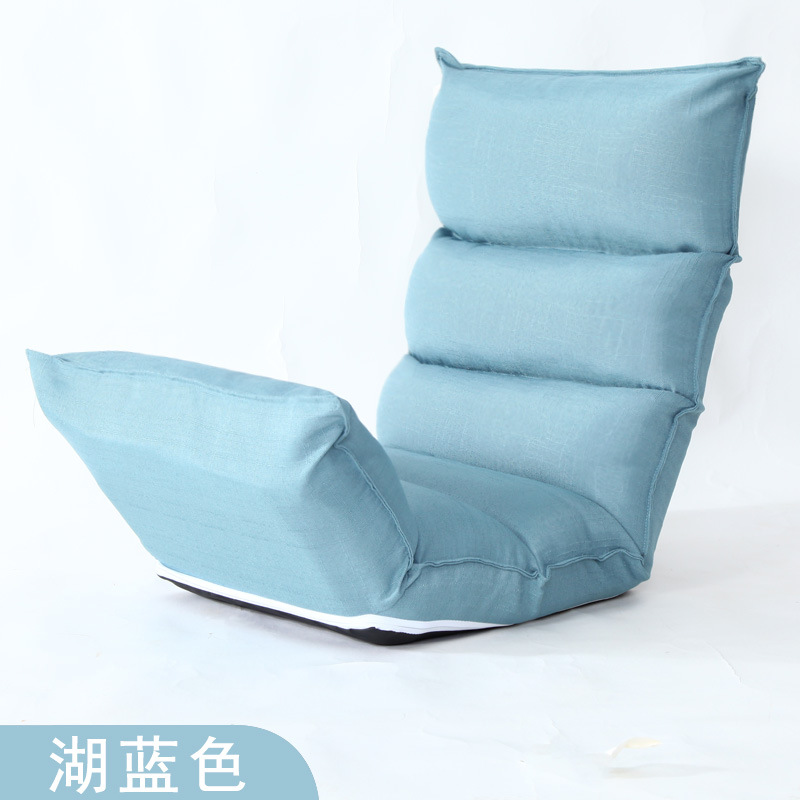 Best Choice Products Cushioned Floor Gaming Sofa Chair Folding Adjustable High Rebound...