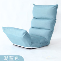 Best Choice Products Cushioned Floor Gaming Sofa Chair Folding Adjustable High Rebound Sponge Couch Beds Lounge Chair