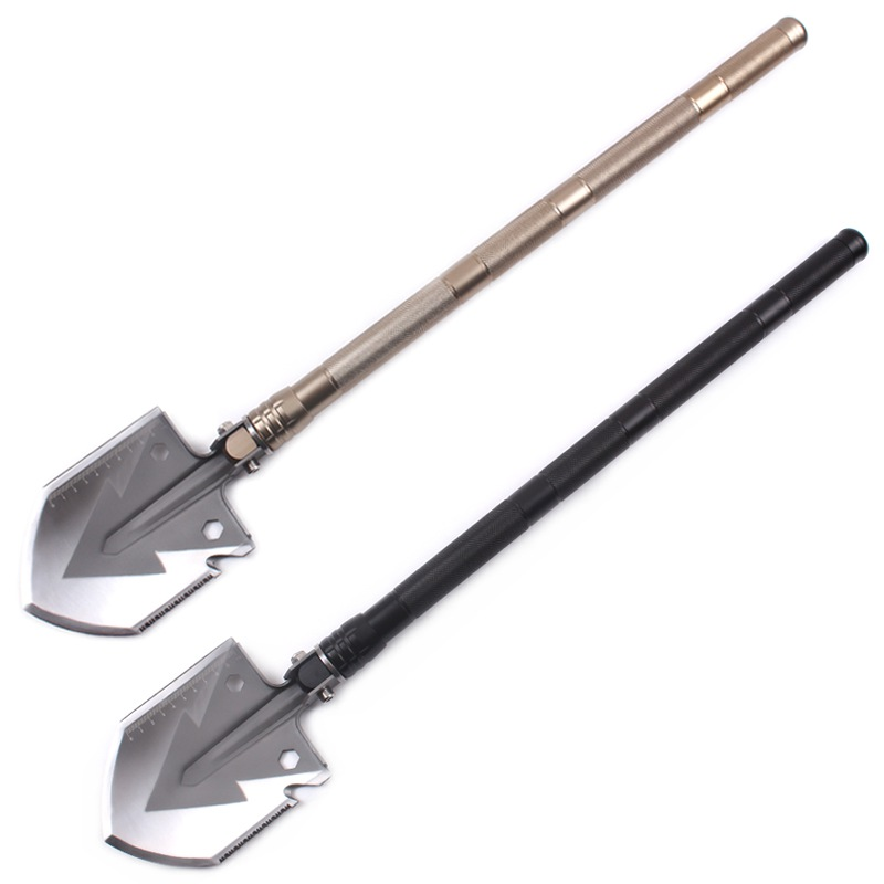 ФОТО Professional Military Tactical Multifunction Shovel Outdoor Camping Hiking Survival Folding Spade Tool Equipment V2