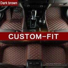Ajuste personalizado esteras del piso del coche para Mercedes Benz B180 C200 E260 CLA G GLK300 ML S350/400 clase 3D car styling alfombra piso de línea