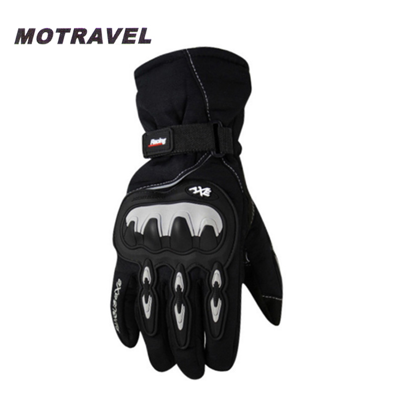 Motorcycle Protective Gloves Winter Warm Waterproof Men s Gloves Outdoor Riding Gloves Guantes Moto Luvas Alpine