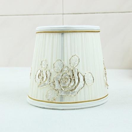 1pcs elegant fabric lamp shades luxury lace lamp shades classic 1pcs elegant fabric lamp shades luxury lace lamp shades classic wall light lamp shades aloadofball Image collections