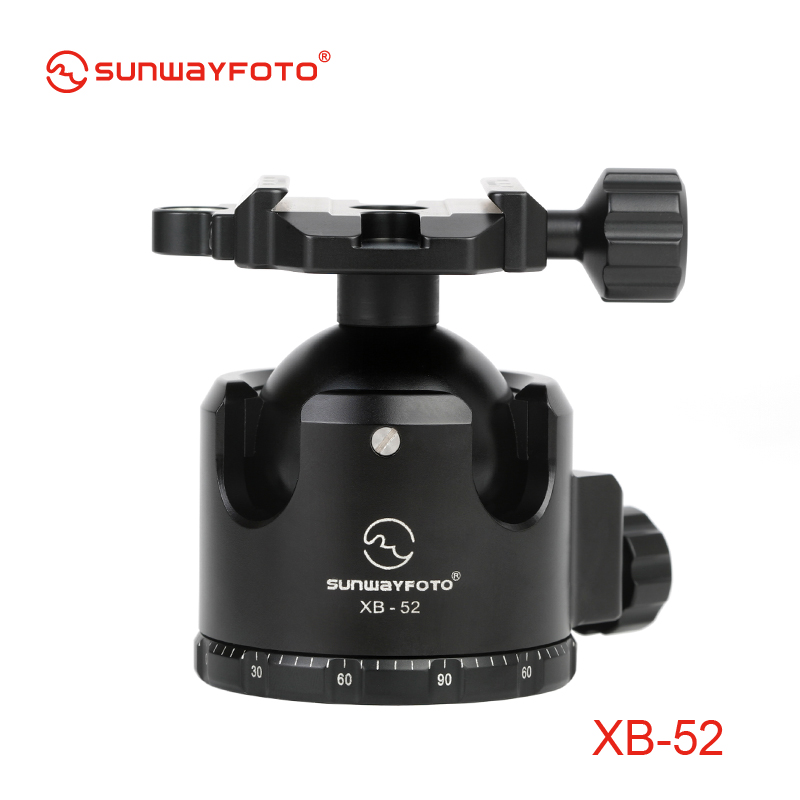 SUNWAYFOTO XB 52 Low Profile font b Tripod b font head for DSLR font b Camera