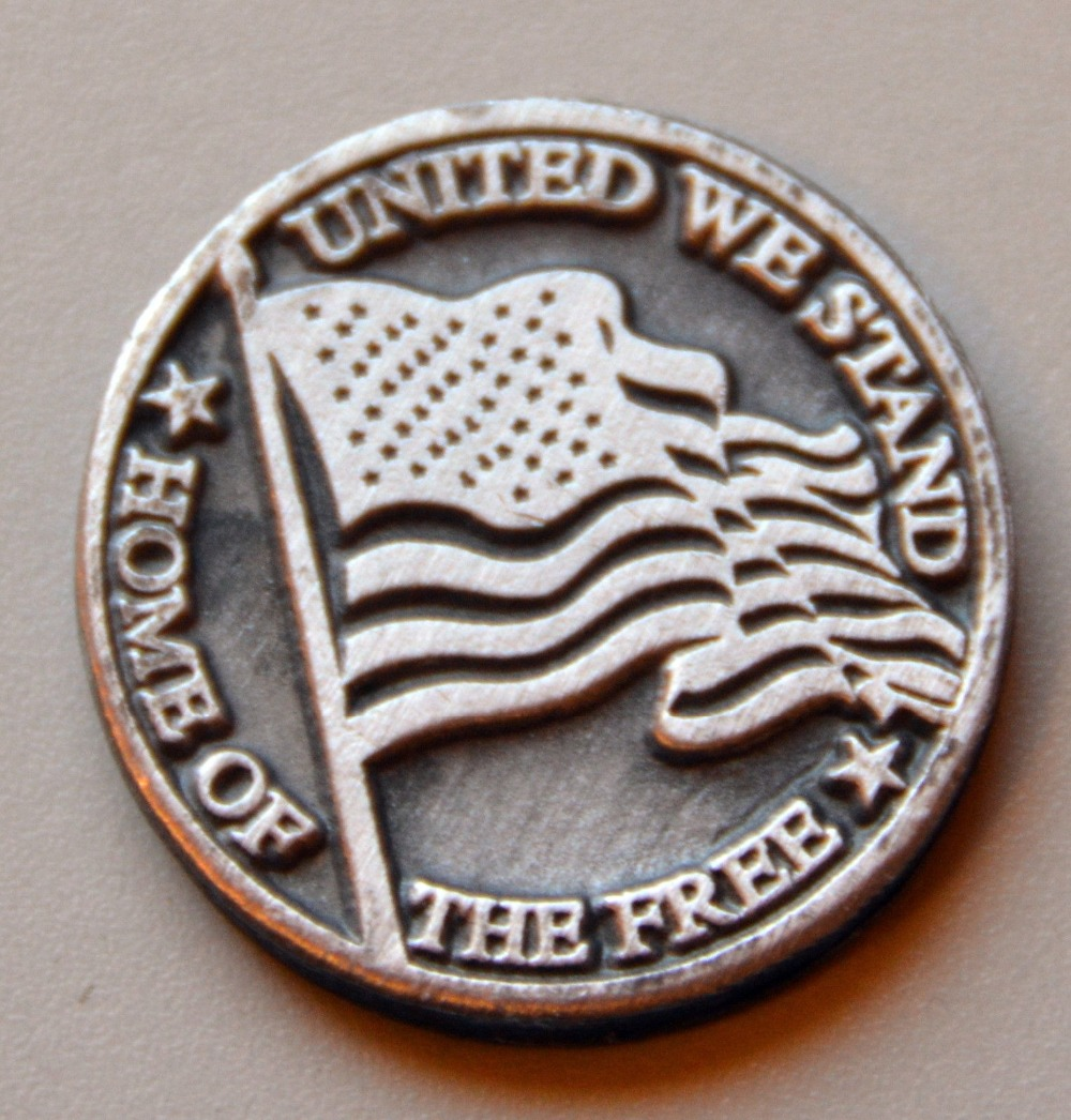 Most popular 3D old coins low price die casting engraving