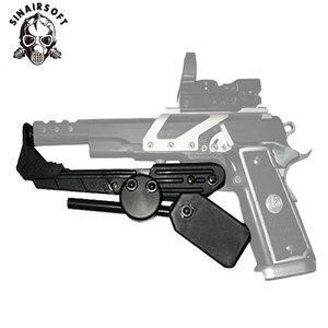 Image 2 - Tactical IPSC CR Velocidade pistola Estilo Universal Holster Mão Direita Preto Azul Amarelo Vermelho Para Acessórios De Paintball caça tiro