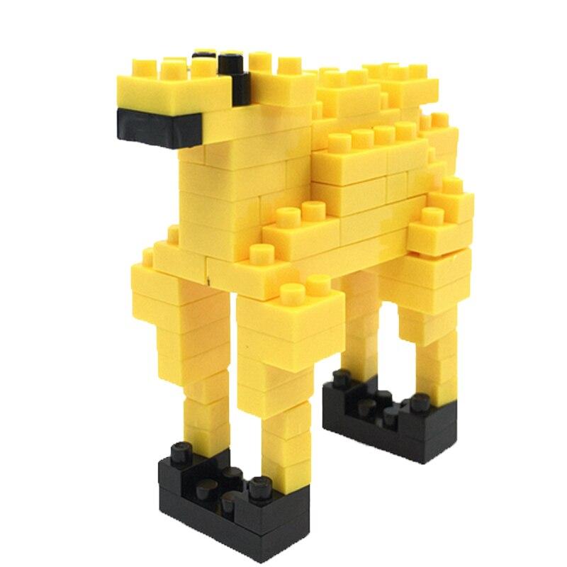 2018 Hot Sale LOZ Simple Level Camel font b Model b font Micro Size font b